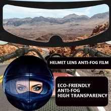 Casco de motocicleta con bloqueo de Pin transparente, protector de lente de casco antiniebla, resistente a la niebla, para K3, K4, AX8, LS2, HJC