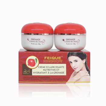 Wholesale Feique pomegranate Whitening Freckle Removing Cream day and night cream per set 15g+15g недорого