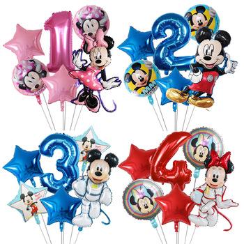 6 sztuk Disney Minnie z balonów foliowych zestaw Mickey Mouse balon dekoracja urodzinowa Baby Shower dzieci zabawki powietrza Globos dostaw tanie i dobre opinie CN (pochodzenie) Myszka Miki Numer FOLIA ALUMINIOWA Ślub i Zaręczyny Chrzest chrzciny Na Dzień świętego Patryka Wielkie wydarzenie