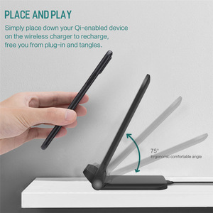 Image 4 - DCAE 15W Qi Wireless Charger สำหรับ iPhone 11 Pro X XS 8 XR Samsung S9 S10 S8 USB C Fast Charging Station โทรศัพท์ Quick Charge