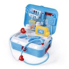 Детский игровой домик для девочек и мальчиков, доктор, косметика, портативный набор инструментов для домашних животных, модель кухонной игрушки