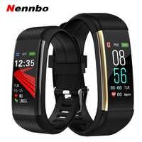 Nennbo R1 Sport Smart Band Fitness Tracker Smart Armband Wasserdichte Armbänder Blutdruck Herz Rate Monitor Schrittzähler