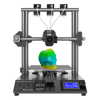 Geeetech A20T 3D Printer 3 in 1 out hotend mix color GT2560 V4.0 big print area 250x250x250mm FDM