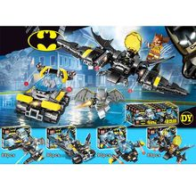 4pcs Avengers 4 War Super Heroes Batman Building Blocks Bricks Boy Toys