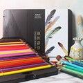Профессиональные водорастворимые цветные карандаши NYONI, 48/72/100 цветов, набор масляных цветных карандашей, Цвет s, карандаш для рисования