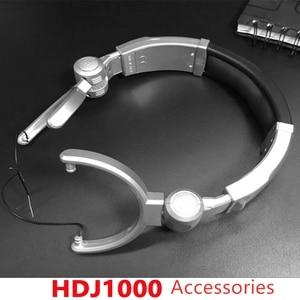 Image 2 - ل HDJ1000 7.5 سنتيمتر قطع غيار سماعة رأس شعاع وسادة هوك
