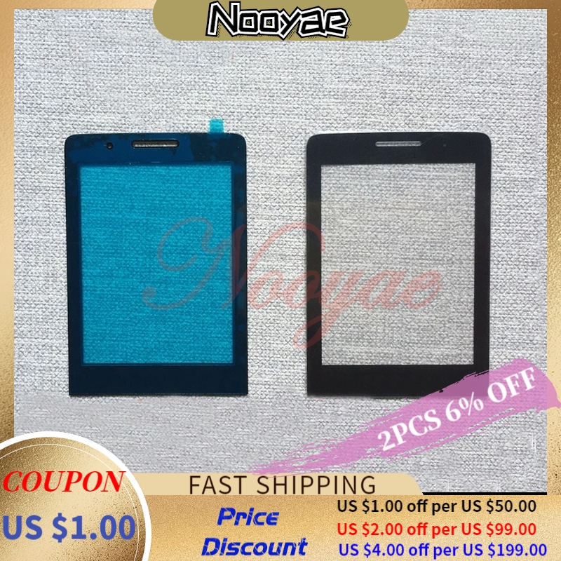 New Original Black Glass Panel For Philips Xenium E570 E571 E560 X5500 X623 X513 Glass Lens Screen Replacement +track