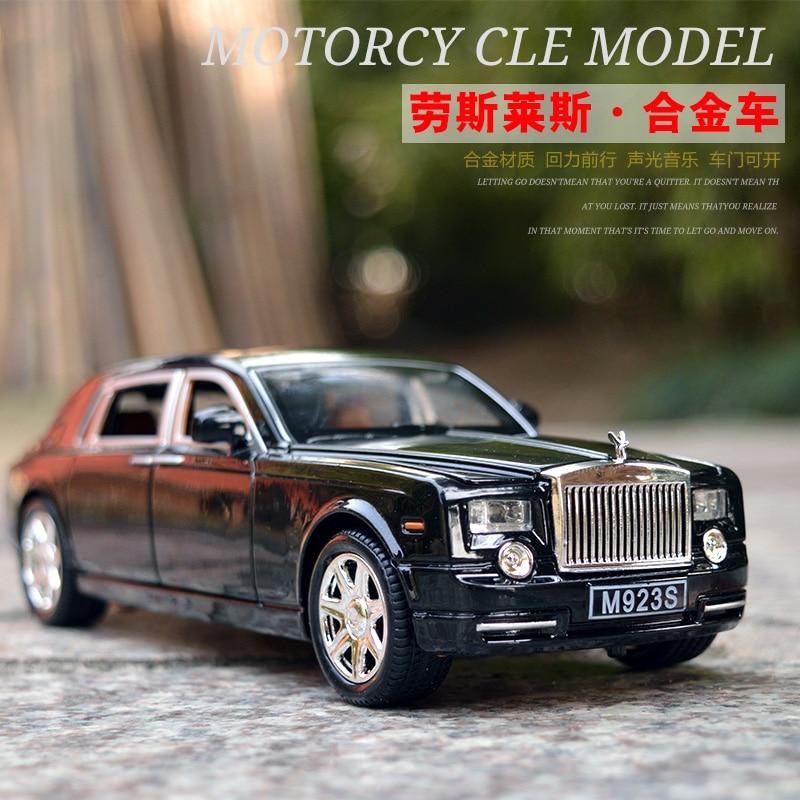 LIMITED 【FREE SHIPPING Only 31.88】Rolls Royce Phantom Alloy Diecast Car Model