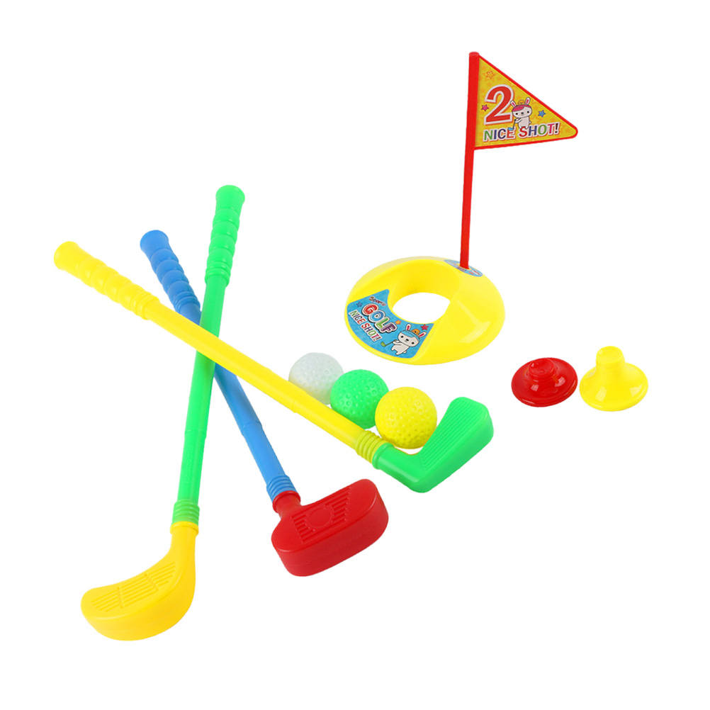 Plastic Childen Golf Suits Sport Toy For Children Educational For Child Adult Indoor Toy Outdoor Fun Sports Toys