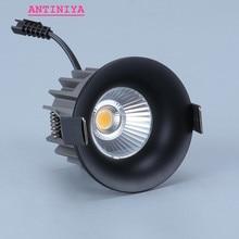 디 밍이 가능한 recesse 라운드 LED Downlights COB 천장 조명 스포트 라이트 7W 9W 12W LED 빛 led 패널 빛 실내 조명