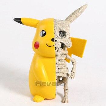 Мультяшный Монстр Скелет разделение ПВХ фигурка Коллекционная забавная модель игрушка