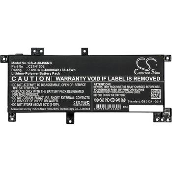 Cameron Sino 4800mAh Battery For Asus X456 X456UA X456UF X456UJ X456UR X456UV,0B200-01740100 C21N1508