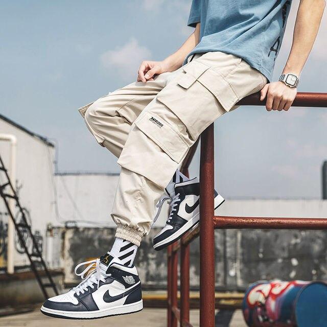 Privathinker hommes décontracté Cargo mode pantalon 2020 automne nouveau surdimensionné pantalon Style japonais femme Streetwear homme vêtements