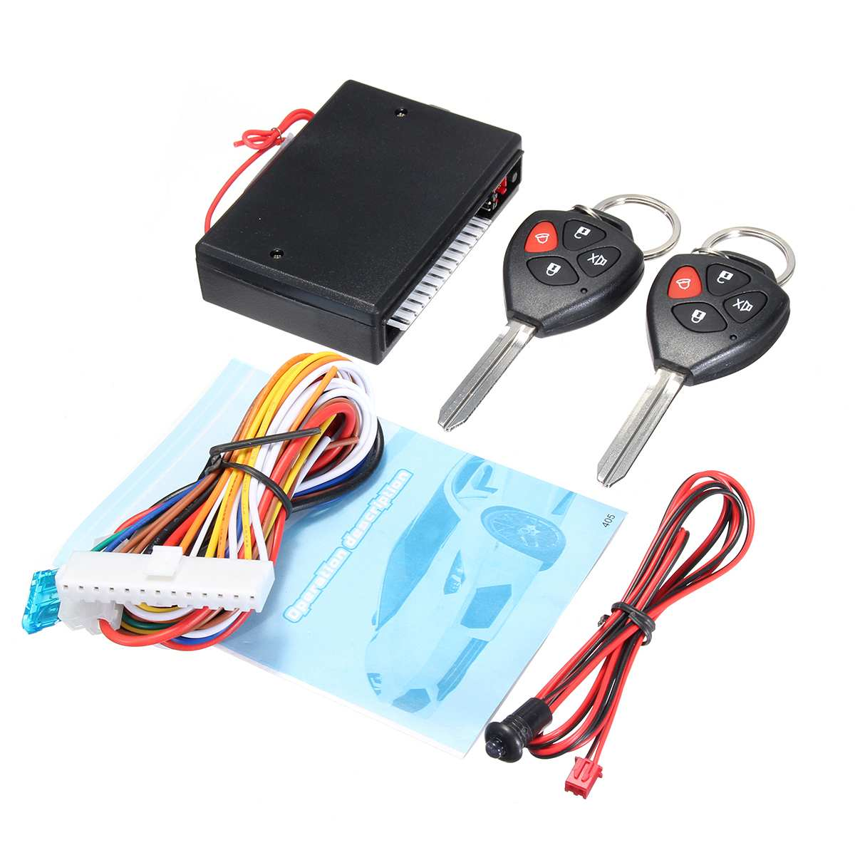 Car Remote Control Central Kit Door Locking Keyless Entry System Alarm Vehicle Entry System CH054-009 For Toyota