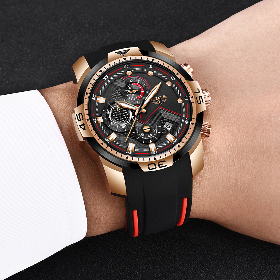 Hcd296bcbaa7d4f34bd0b23783a9ce5259 2020 LIGE Sport Watch Men Brand Luxury Chronograph Silicone Strap Quartz Mens Watches Waterproof Clock Relogio Masculino+Box
