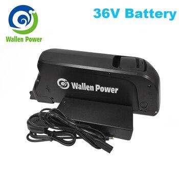 Batería de bicicleta eléctrica, 36v, 17,5ah, 500W, 350W y 250W