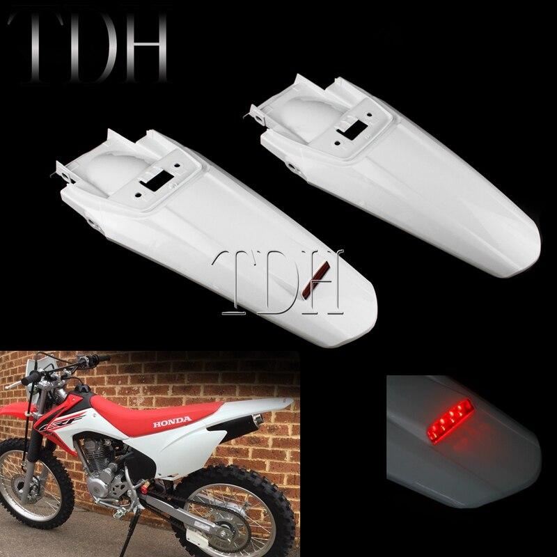 LED Tail Light Enduro Rear Fender Off Road Mudguard LED Brake Stop Lamp For Honda CRF230F 2015-2019 CRF 230