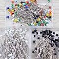 100 шт./кор. семена цветов швейных сцепляющий жемчужной головкой для корсаж Свадебные принадлежности Пластик/Нержавеющаясталь Швейные Инст...