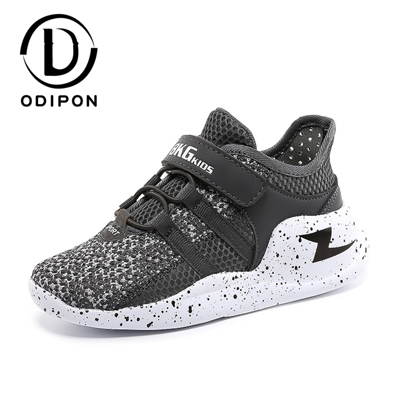 Odipon Children Shoes Girls Boys Sneakers Breathable Mesh Casual Shoes Magic Subsidies Sandals Chaussure Enfant Kinder Schuhe|Running Shoes| |  - title=