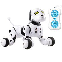RC Robot Dog Children Educational Remote Control Talking Led Birthday Gift Smart Interactive Electronic Pet Toy Cute Animals