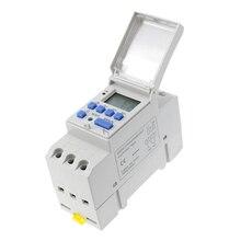 Blanco Samfox Temporizador Temporizador de Interruptor de Control Inteligente programable Digital el/éctrico