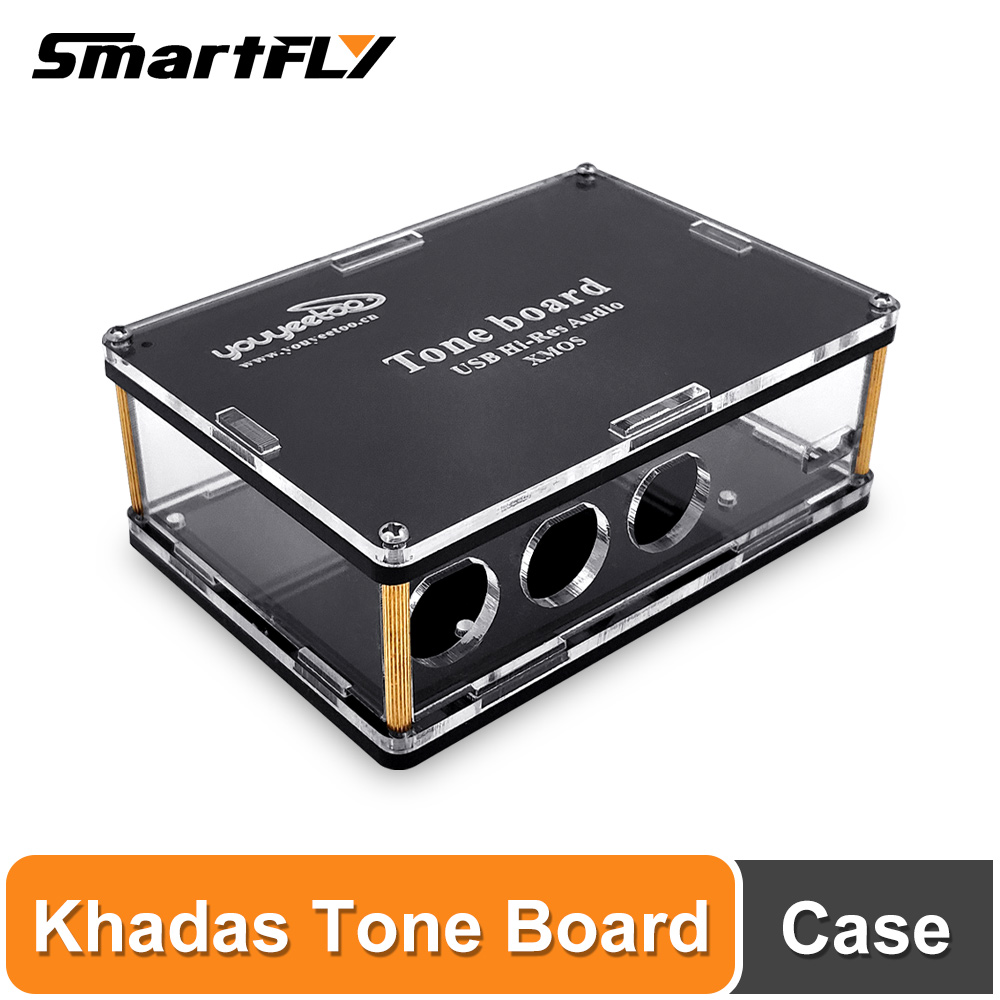 Case for Khadas Tone Board ES9038Q2M USB DAC Hi-Res Audio Development Board with XMOS XU208-128-QF48