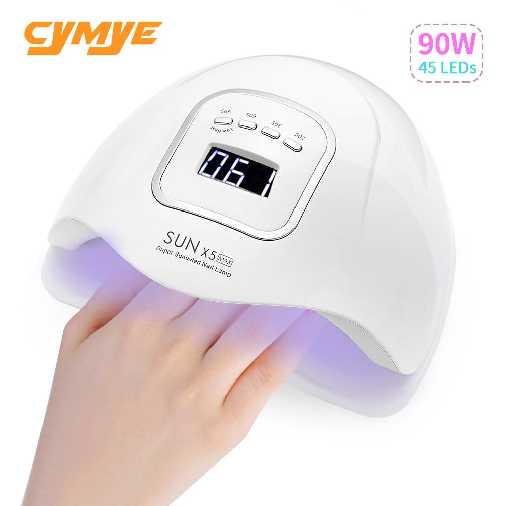 Ультрафиолетосветодиодный Светодиодная лампа Cymye Sun X5 Max plus для сушки ногтей
