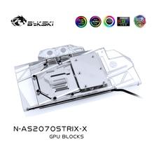 Gaming-Graphics-Card Water-Block Rtx 2070 STRIX-X O8G/2060 Asus Rog Bykski Compatible