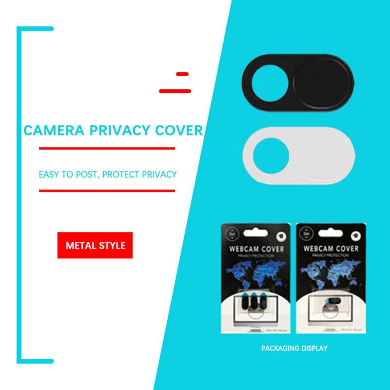 Camera Mobile Phone Privacy Sticker WebCam Cover Shutter Magnet Slider Plastic For IPhone Web Laptop PC For IPad Tablet