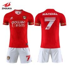 Original Team Soccer Uniform Survetement Football 2019 2020 Kit Dry Fit Sports Wear Grade aaa Thailand Full Set Jersey
