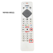 Used Original for PHILIPS TV Remote control 398GM10WEPHN0001HT 398GR10WEPHN001BC YKF456 003 BRC0884406/01 with Netflix TV
