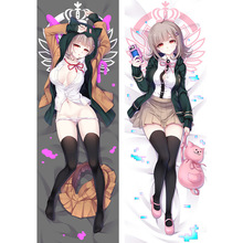 Anime Danganronpa pillow Covers Dakimakura case Cool boy Sexy Nanami ChiaKi 3D Double-sided