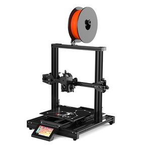 Image 5 - Hiprecy LEO 1S 3D Printer Magnetic Heatbed ALL Metal Printer Support 1.75mm PLA I3 DIY KIT Hotbed Dual Z axis TFT Screen ender 3