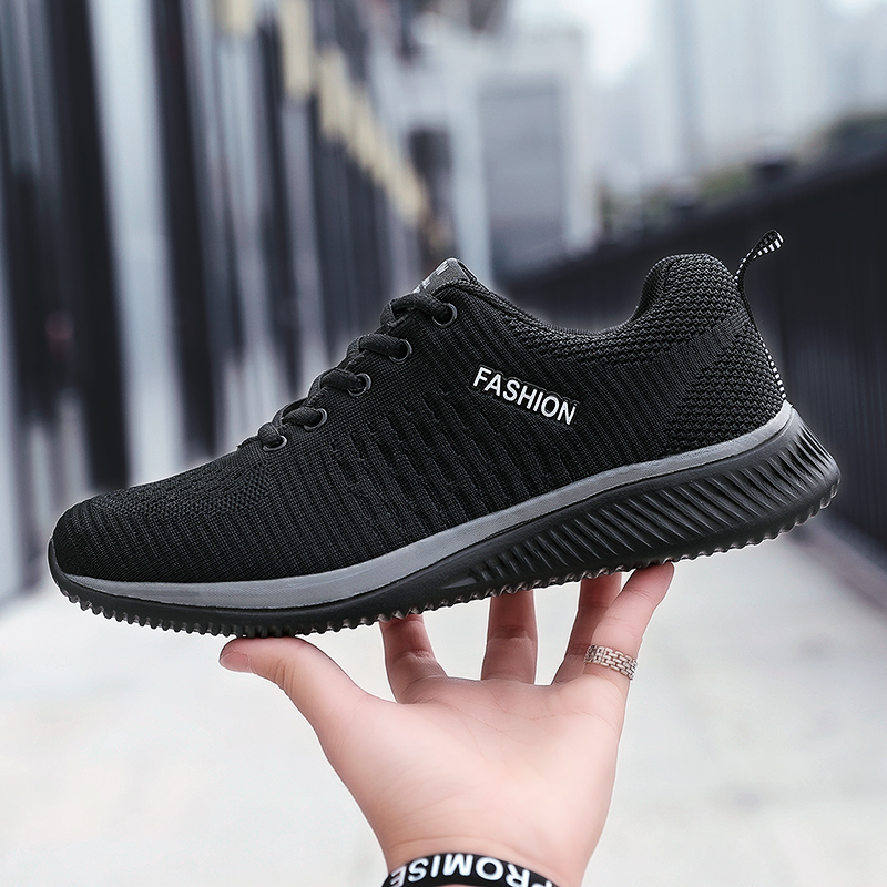 Summer Breathable Men's Casual Shoes Mesh Breathable Man Casual Shoes Fashion Moccasins Lightweight Men Sneakers Hot Sale 35-48 3
