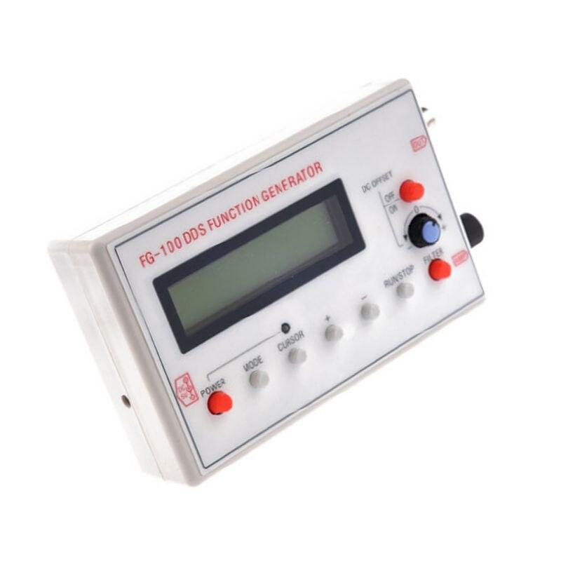 FG-100 DDS функция генератора сигналов, Частотный счетчик 1 Гц-500 кГц, функция генератора сигналов