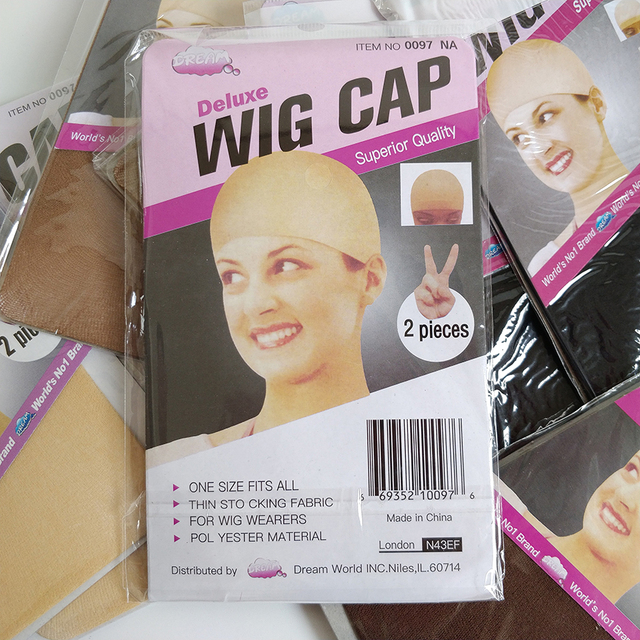 10pcs/Lot Wig Caps For Making Wigs Stocking Wig Cap Snood Nylon Stretch Mesh Nude Flesh Weaving Nude Wig Cap 3