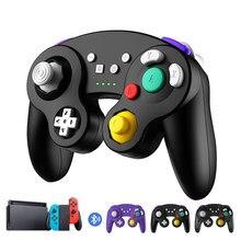 Bezprzewodowy Gamepad Bluetooth konsola Joystick NGC kontroler dla Nintendo przełącznik/przełącznik lite/PC/TV, pudełko/PS3/Android/play station 3