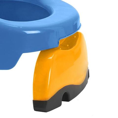 viagem potty aneis para criancas azul