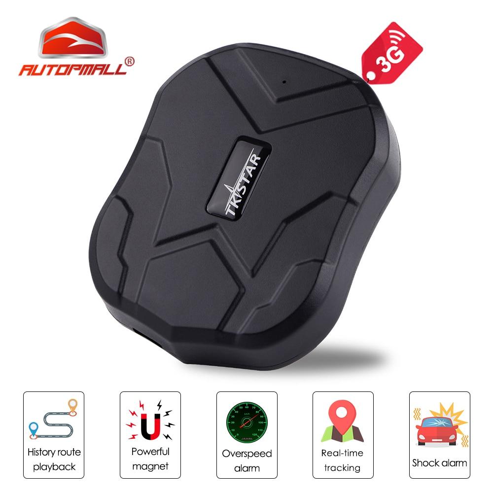 3G GPS Tracker Car TKSTAR TK905-3G 60 Days Standby Waterproof Magnetic GSM/GPS Tracker Vibrate Alarm FREE APP PK TK905 Tracker