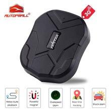 3G GPS Tracker Car TKSTAR TK905 3G 60 Days Standby Waterproof Magnetic GSM/GPS Tracker Vibrate Alarm FREE APP PK TK905 Tracker