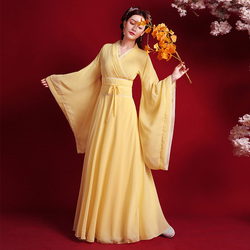 Traditional Chinese clothing princess stage costume guzheng dance costume film and television drama improved Hanfu women's skirt