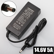 14.6V 5A DC Lithium Battery Charger Polymer lithium battery Pack