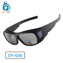 New Fit over Sunglasses UV Polarized Cycling Sports Glasses