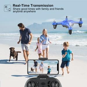 Image 4 - Mini Dron APEX con cámara 720P FPV, Mini Dron con cámara HD, Quadcopter, helicóptero RC, modo de retención de altitud sin cabeza