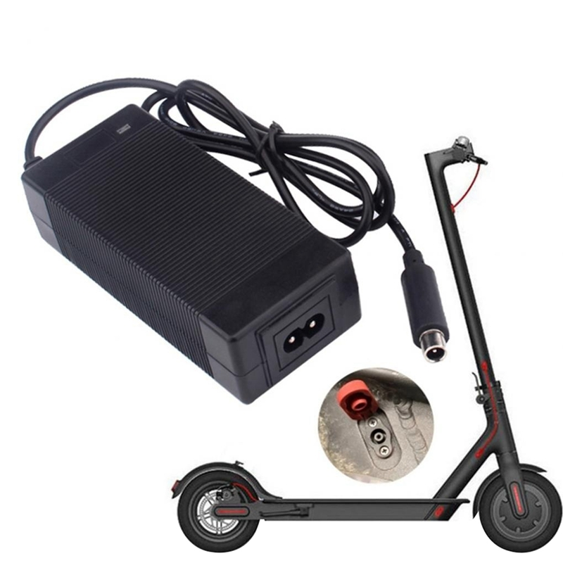 New Battery Charger Adapter For Xiaomi Mijia M365 Electric Scooter Fold Skateboard