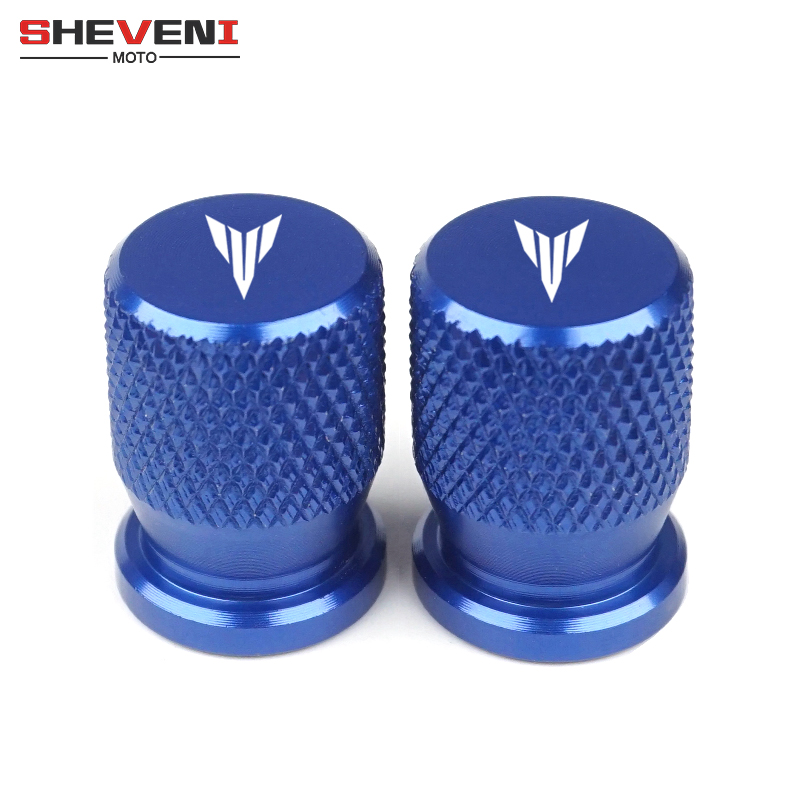 Motorcycle Accessories Wheel Tire Valve caps CNC Aluminum Airtight cover for <font><b>YAMAHA</b></font> MT03 MT-03 MT 03 07 09 MT-07 MT07 MT09 <font><b>MT25</b></font> image