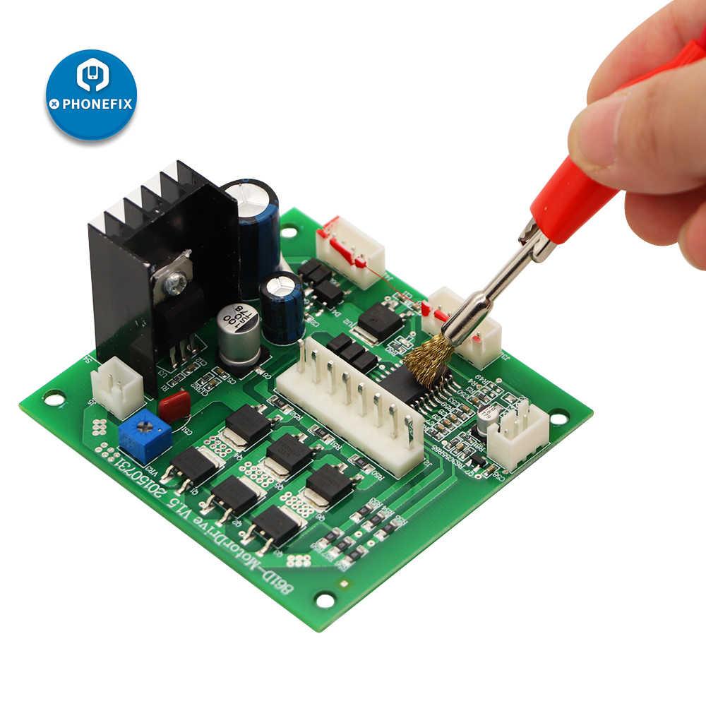 Perbaikan Telepon Las Sikat 5 Cm Kawat Kuningan Sikat Tembaga untuk iPhone Perbaikan PCB Papan Utama Alat Pembersih Alat Elektronik Kit
