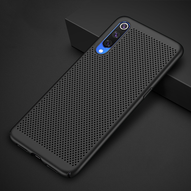 Ultra-thin Cooling For Samsung Galaxy A30 A50 A20 A10 M20 A6 A8 Plus A7 2018 S8 S9 S10 S10e Breathing Case Hard Full Phone Capa