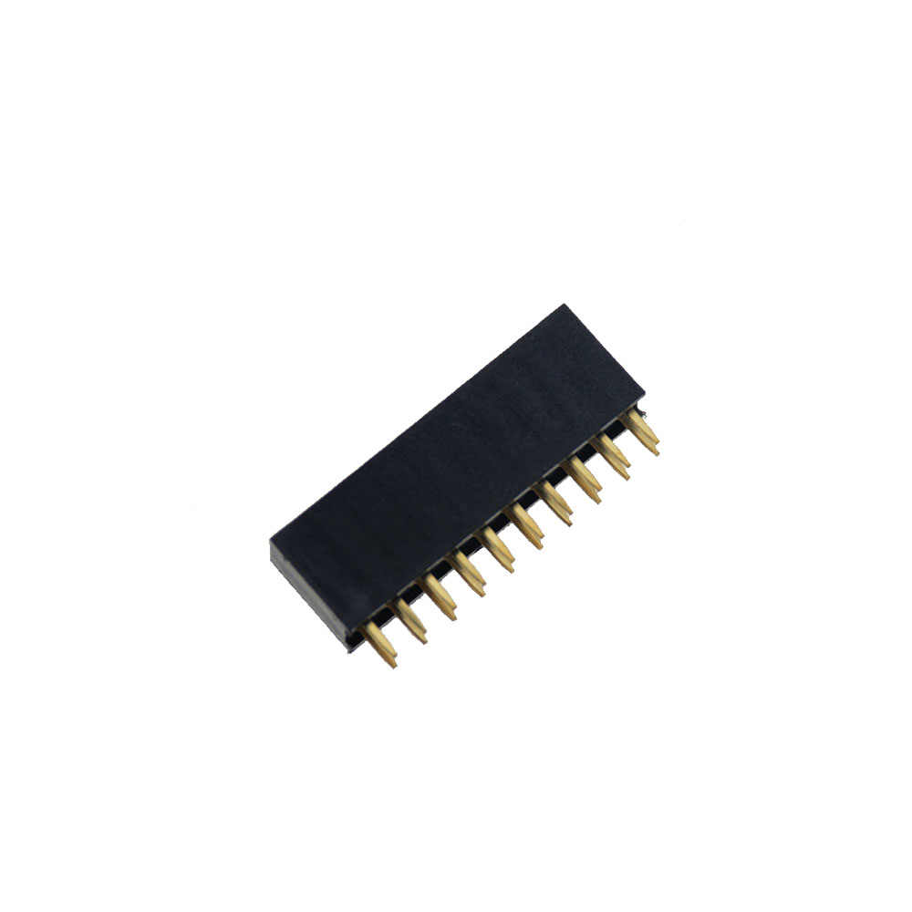 10 Pcs 2.54 Mm Dubbele Rij Vrouwelijke 2-20P Breakaway Pcb Board Pin Header Socket Connector Pinheader 2*2P 3 4 6 10 12 16 20Pin 2X2P