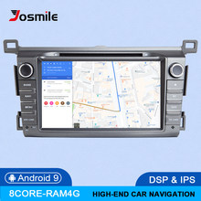 DSP IPS 4GB 64G 2 Din Android 9.0 car multimedia dvd player GPS for Toyota RAV4 Rav 4 2013 2014 2015 2016 2017 2018 radio stereo(China)